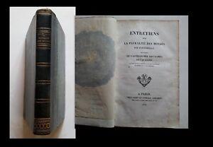 Fontenelle, entretiens sur la pluralité des mondes, astronomie des dames 1826