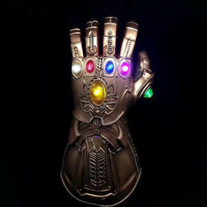 Thanos-Infinity-Gauntlet-Marvel-Gloves-Legends-LED-Light-Avengers-Cosplay