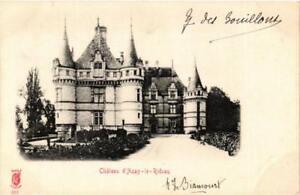 CPA-Chateau-d-039-Azay-le-Rideau-611672