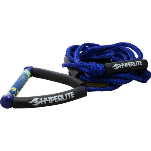 SIZE 20/' BRAND NEW!!! HYPERLITE SURF ROPE//HANDLE COLOR:BLUE