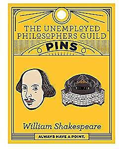 Pin Set UPG Shakespeare and The Globe 5081