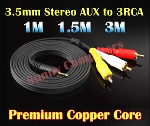 Premium-3-5mm-AUX-Male-to-3RCA-M-M-Stereo-Audio-Adapter-Cable-Red-Yellow-White