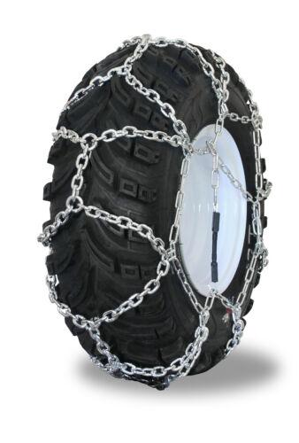Grizzlar GTN-509 Garden Tractor Alloy Tire Chains Diamond Net 20x8.00-8//-10