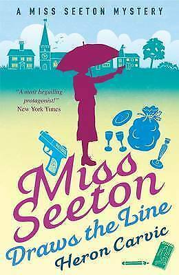 1 of 1 - Miss Seeton Draws the Line (A Miss Seeton Mystery), Heron Carvic, New