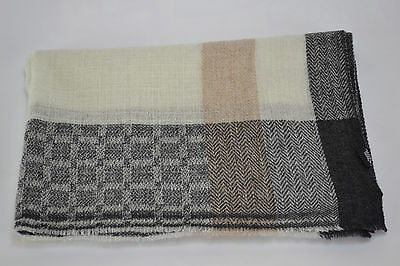 Pashmina Cashmere Scarf Shawl Natural Wool Scarf Mens Scarves Womens Stole Wrap