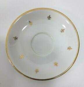 Vintage-Fleur-de-Lis-Saucer-Made-in-Japan