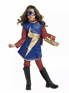 New Disney Captain Marvel Ms Marvel Costume For Kids Size 13 Ebay Did you scroll all this way to get facts about captain marvel costume? ebay
