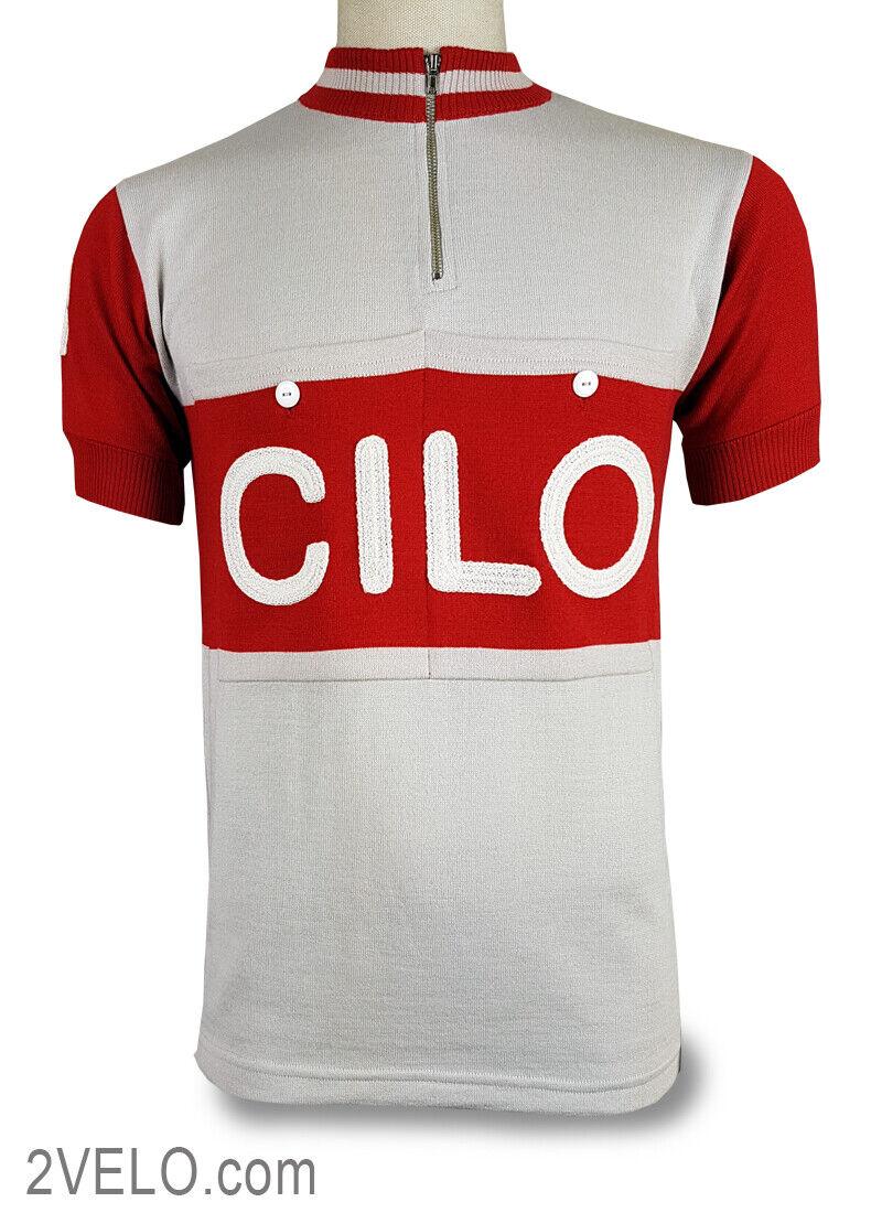 CILO Swiss vintage wool jersey, new, never worn S