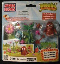 Mega Bloks Moshi Monsters Moshling Garden (80617) 24 Pcs Mega Brands 2011 New