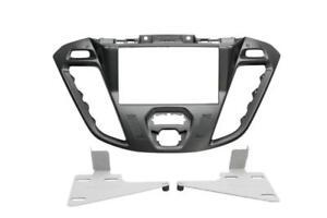 Ford-Transit-Custom-FCC-diaphragme-Autoradio-Cadre-de-montage-double-din-2-NOIR