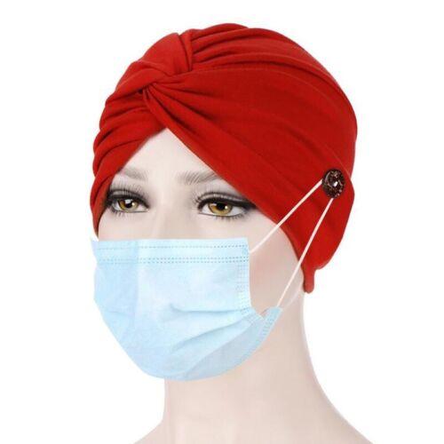 Women Muslim Cross Turban Cancer Chemo Cap Hat Bandana Scarf Hijab Head Wrap US
