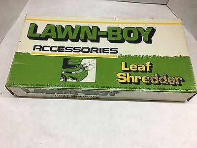 """21/"""" LAWN-BOY LEAF SHREDDER"""