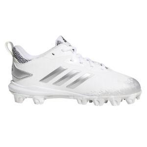 Adidas Adizero Afterburner V MD Youth Baseball Cleats CG5240 - White ... 5503659ea