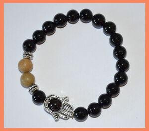 good luck bracelet spiritual bracelet hamsa bracelet protection bracelet hamsa jewelry 7 chakra bracelet 7 chakra stones bracelet gemstones