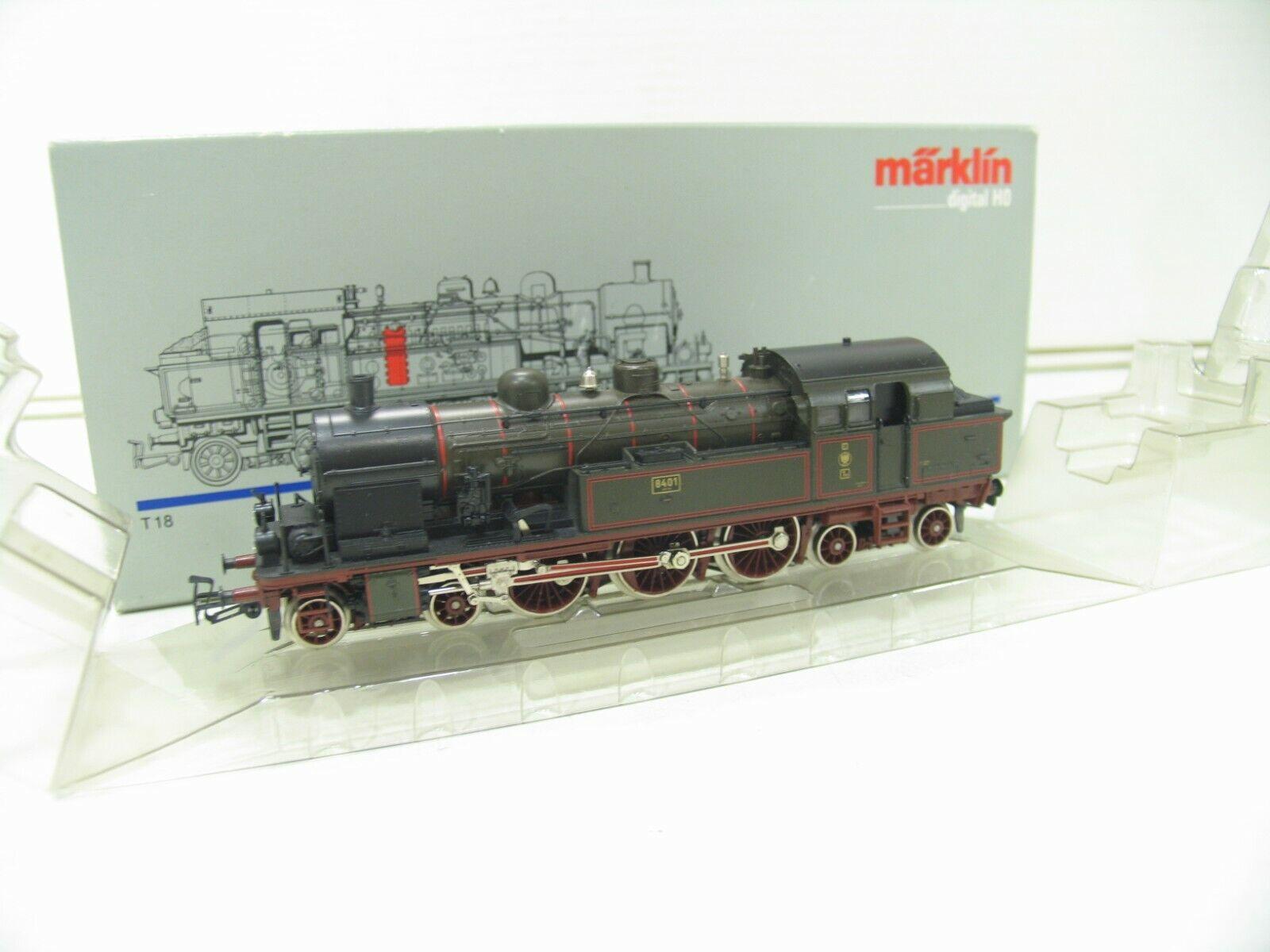 MÄRKLIN 3609 DAMPFLOK T18 der KPEV DIGITAL  NH3340