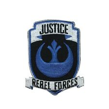 """Star Wars """"Justice"""" Iron-On Patch Rebel Forces Insignia Craft Accessory Applique"""