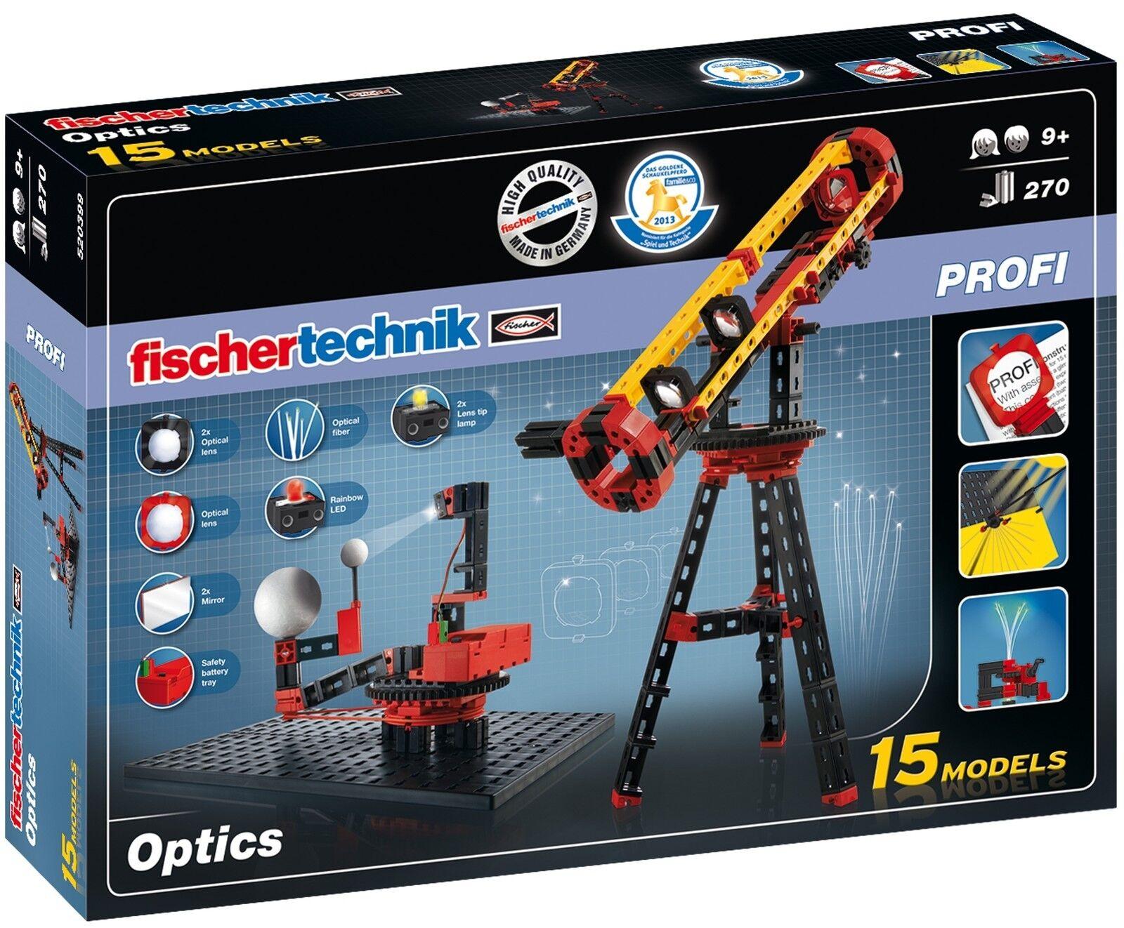 nuevo  Fischertechnik 520399 Profi Optics óptica luz  OVP