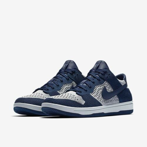7 Tamaño Navy 917746 Uk 41 400 Grey Low College Dunk Eur Wolf Nike Flyknit wxqzFI88
