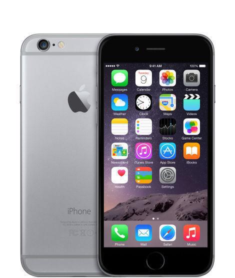 Apple iPhone 6 - 32GB - Space Grau (Ohne Simlock) A1586