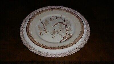 Honest 2 Vintage Ceramic Porcelain Transferware Decorative Plates T & R Boote England Ceramics & Porcelain