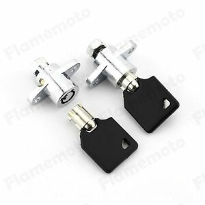 Motorcycle Accessories & Parts Motorcycle Hard Saddlebag Lock With Key For Harley Road King Street Glide Touring Model 2014-up 15 16