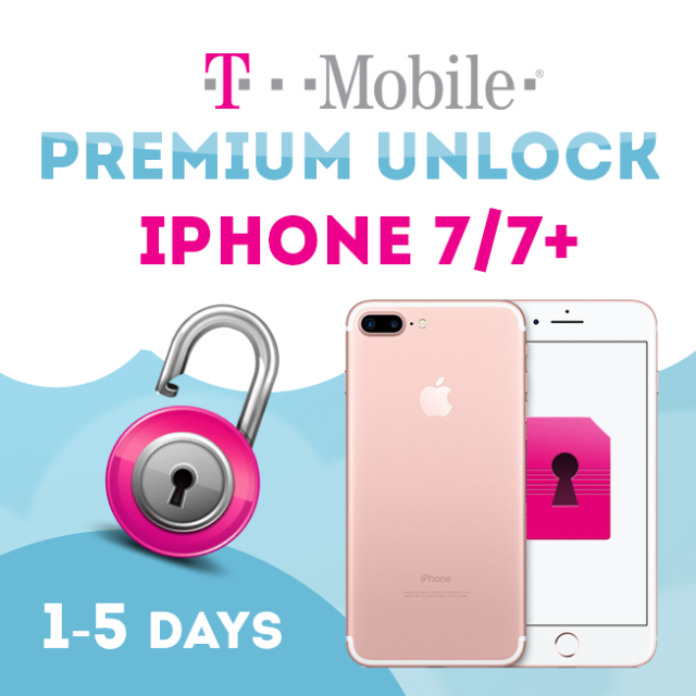 T-MOBILE USA / METRO PCS UNLOCK SERVICE FOR IPHONE 7 | 7+ CLEAN AND FINANCED