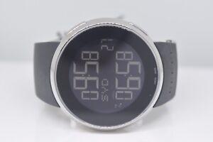 39f73f131c7 New Authentic Men s Black I Gucci Ya114202 Digital Swiss watch