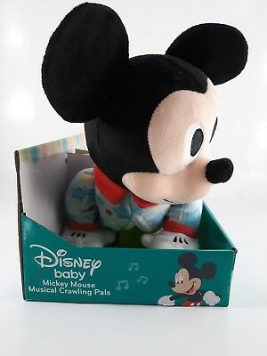 New Disney Chanel Baby Mickey Mouse Musical Crawling Pals ...