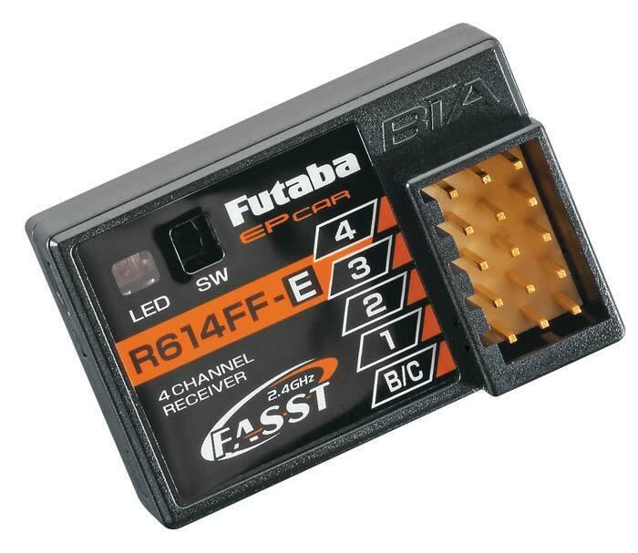 Futaba FUTL7632 R614FF-E 4Ch 2,4ghz  Fasst Receptor 4 Uds 4PKS 4PKSR  prezzi più convenienti