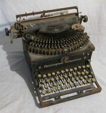 Antique Typewriter -- REMINGTON NOISELESS 6 -- Needs Work, Sold As Is -- 1920's?