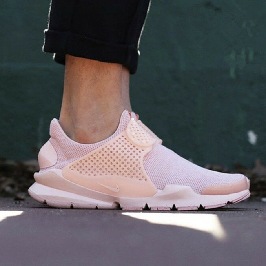 NIKE SOCK DART BR Trainers Strap Slip-On Gym Casual () Arctic orange