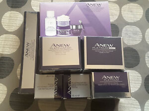 Avon-Anew-Plantinum-Day-Night-Definition-Travel-Sets-EYE-amp-LIP-Gift-Ideal