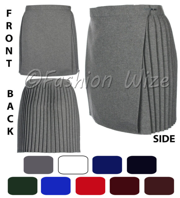 Ladies//Girls Size 36 inch waist School Gym Skirt Netball Skirt Games Skirt Grey