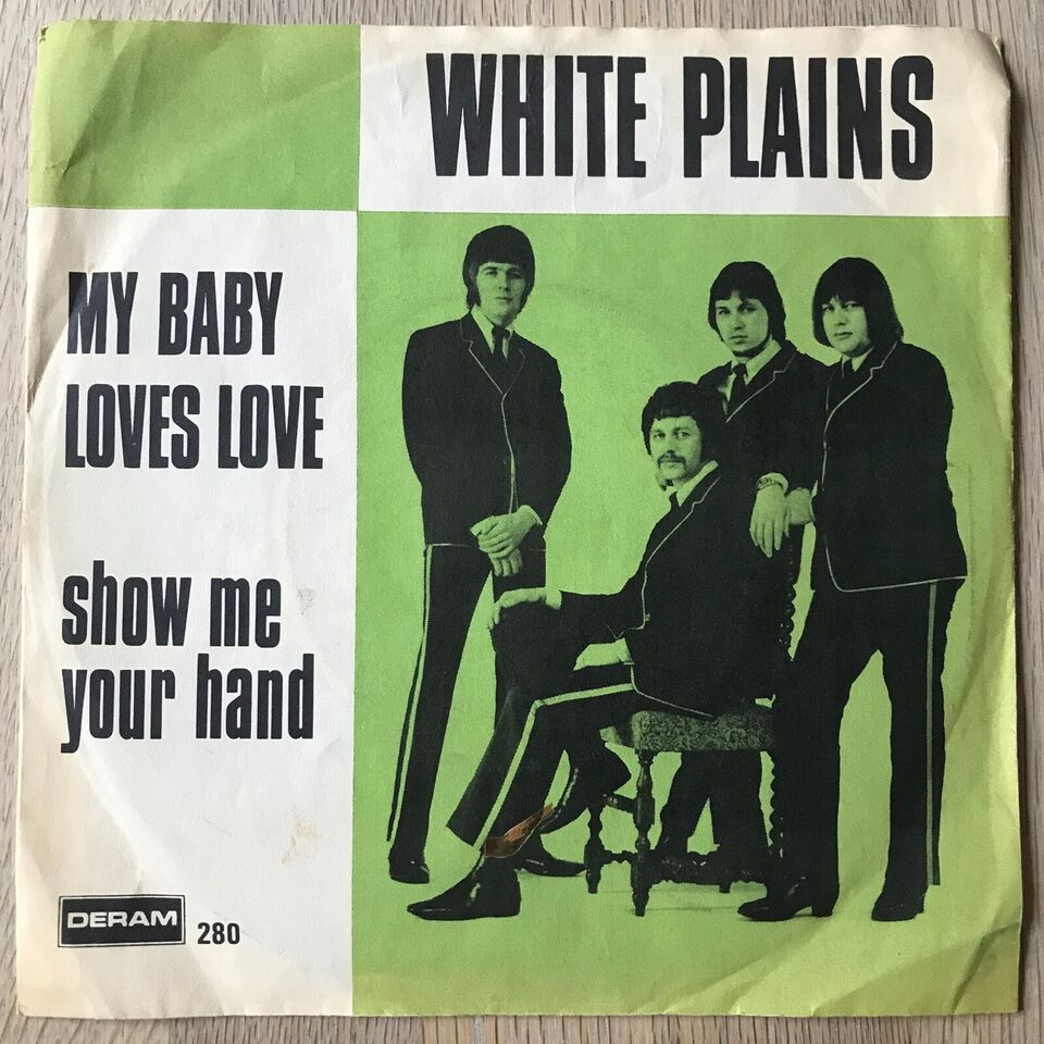Single, White Plains, My Baby Loves Lovin'/Show Me Your