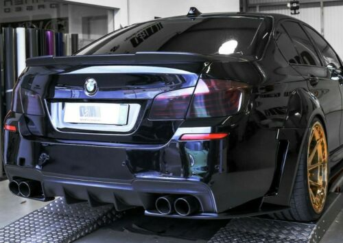 BMW 535 F10 35/% Smoked Tail Light Film Vinyl Overlay 550 M5 Pre-cut 535i 550i