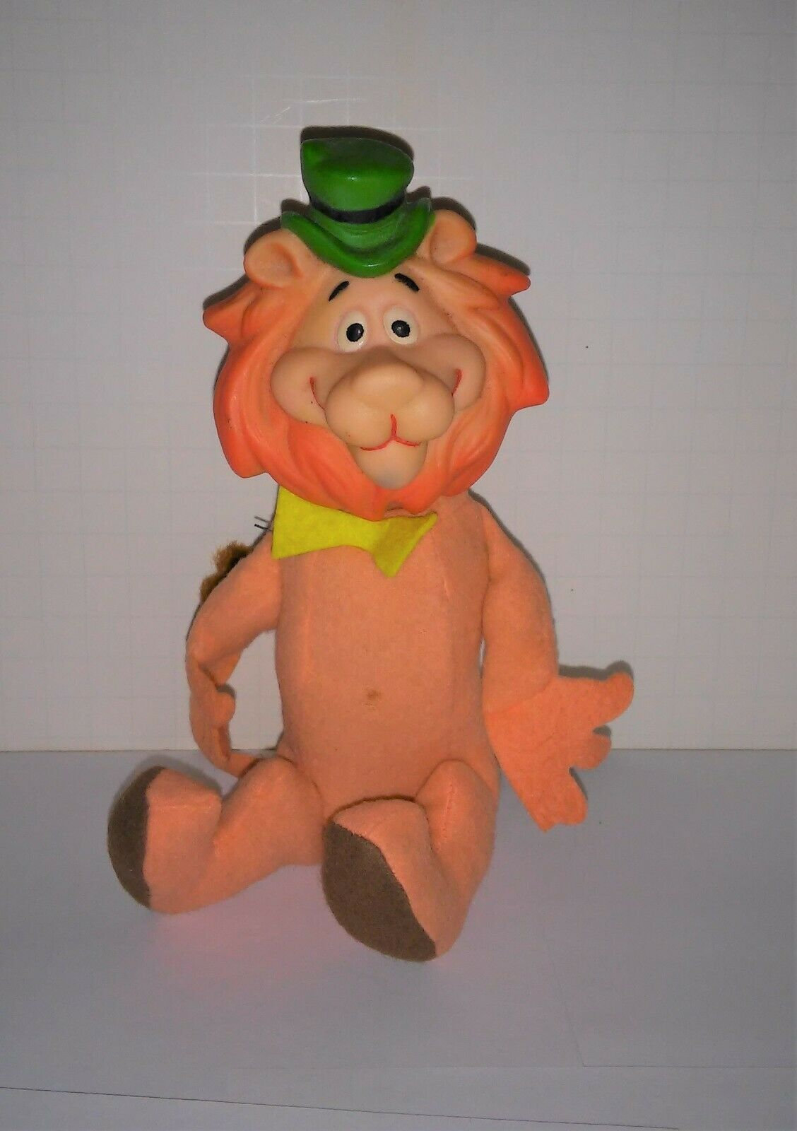 Lippy Lion Ideal plush Rubber head nice paint nice body lost vest Hanna Barbara