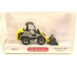 Kramer-280-Pala-caricatrice-giallo-zincato-Wheel-loader-zinc-Giallo