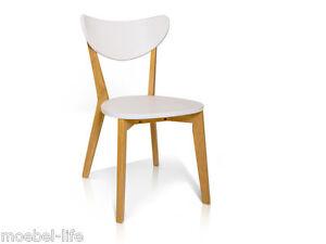 bert esstischstuhl esszimmerstuhl stuhl holz massivholzstuhl buche wei weiss ebay. Black Bedroom Furniture Sets. Home Design Ideas