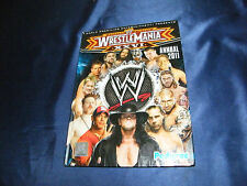 WRESTLING WWE WRESTLEMANIA 26 BUCH DIN A4 VIELE FOTOS 2011 UNDERTAKER