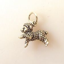 .925 Sterling Silver 3-D LAMB CHARM NEW Young Sheep Animal Pendant 925 AN44