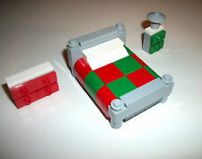LEGO Furniture Winter Village Bedroom Set 4MOCSET 10229 10245 10197 10190 10199