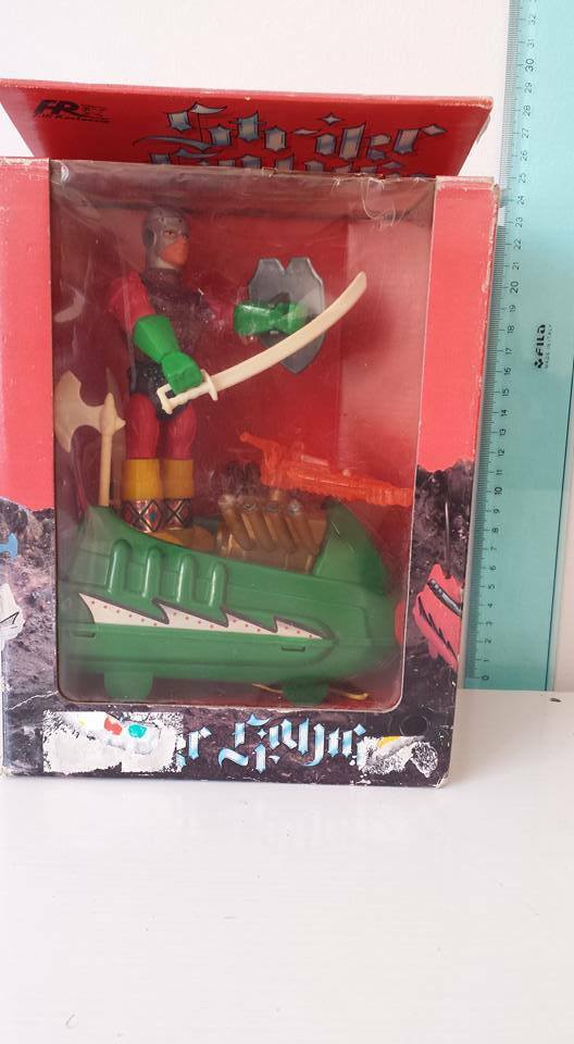 MOTU Strike Fighter  He-Man  Bootleg Galaxy Warriors  1985 masters