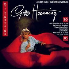 """12"""" Gitte Haenning Meilensteine 80-86 (Lampenfieber, Ich will alles) Global 80`s"""