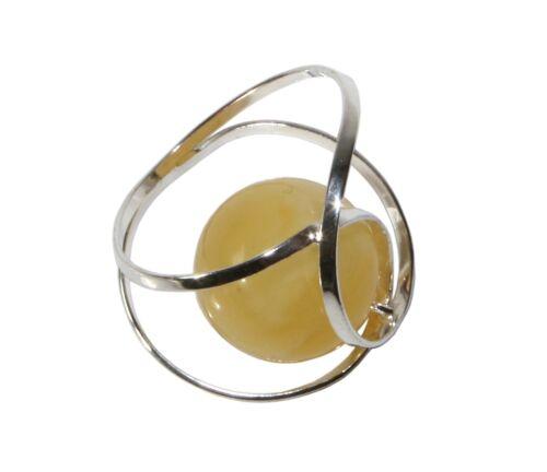 Umwickelter Gelber Schmuck Bernsteinanhänger mit 925 Sterling Silber für Damen