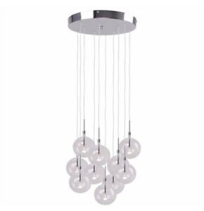 Debenhams home collection lucy cluster ceiling light clear glass image is loading debenhams home collection lucy cluster ceiling light clear aloadofball