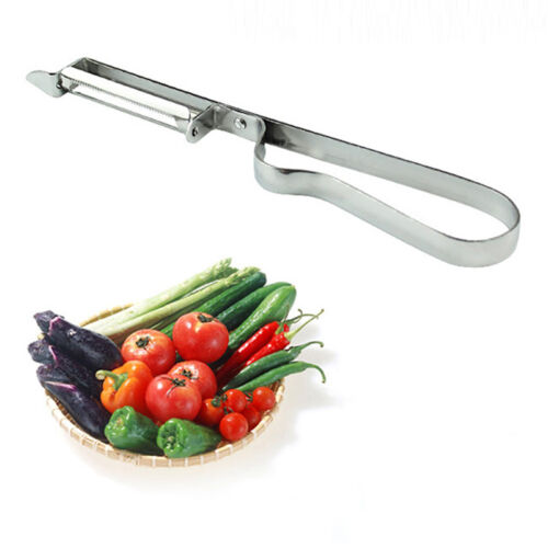 Stainless Steel Vegetable Fruit Potato Peeler Parer Cutter Slicer Tool BEST PG