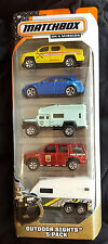 MATCHBOX MBX OUTDOOR SIGHTS 5 PACK GIFT SET LOT CASE 60TH ANNIVERSARY