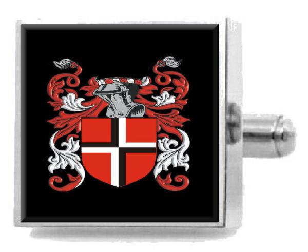Qualifiziert Udal England Familie Wappen Familienname Manschettenknöpfe Personalisierte SchöNer Auftritt