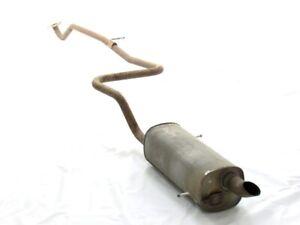 Tubo di scarico posteriore per auto N1 Style da 2,5 pollici con ingresso bruciatura da 2,5 pollici universale EBTOOLS Silenziatore di coda del tubo di scarico
