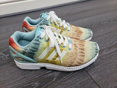 ☆ EUC Womens Adidas Torsion ZX Flux X Farm Company trainers size 6 EU 39 13 ☆ | eBay